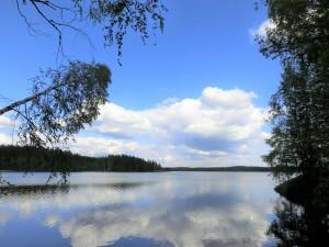 Järvimaisema Mikkelistä